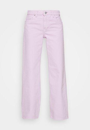 Straight leg jeans - lilac purple light