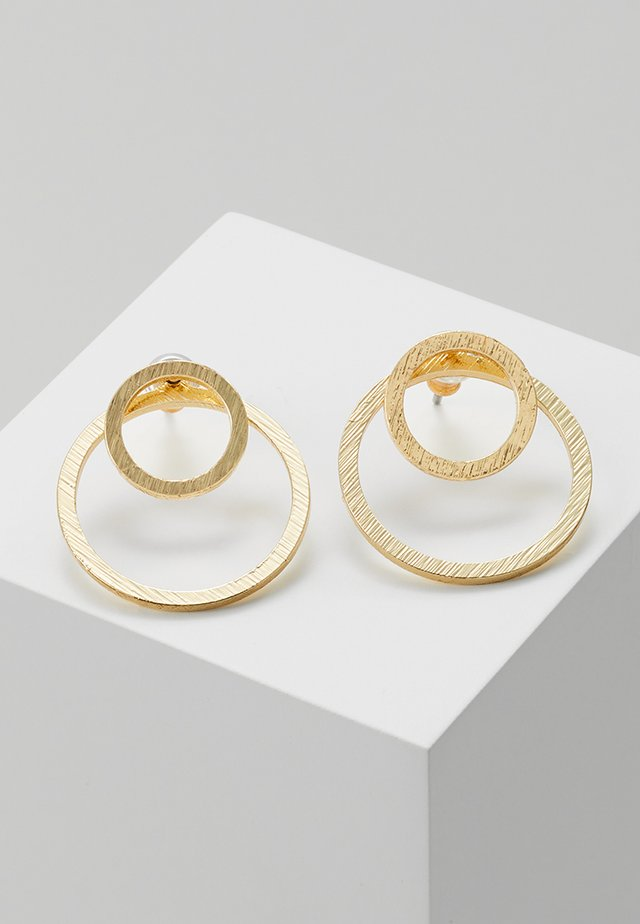 2-IN-1 - Earrings - gold-coloured