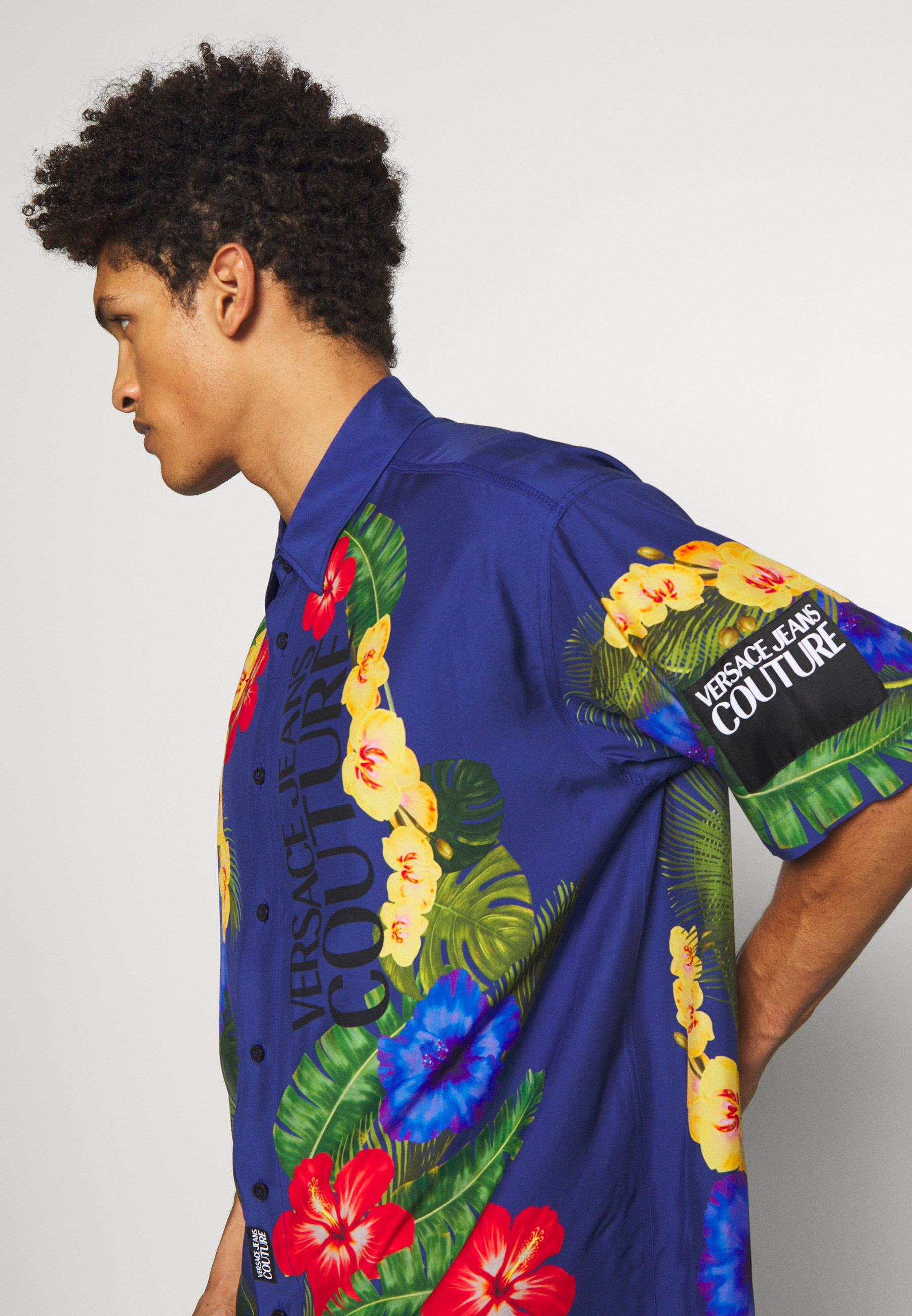 Versace Jeans Couture HAWAII  - Chemise - blue