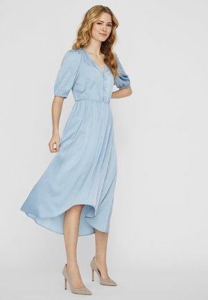 MAXIKLEID V-AUSSCHNITT - Maxi-jurk - ashley blue