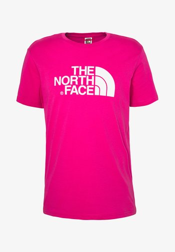 M S/S EASY TEE - EU - Print T-shirt - mister pink