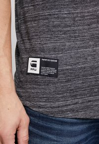 G-Star - LASH GR - Camiseta estampada - dark black - 5