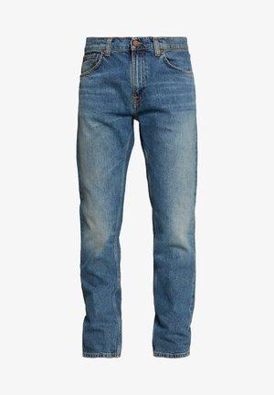 GRITTY JACKSON - Straight leg jeans - blue denim