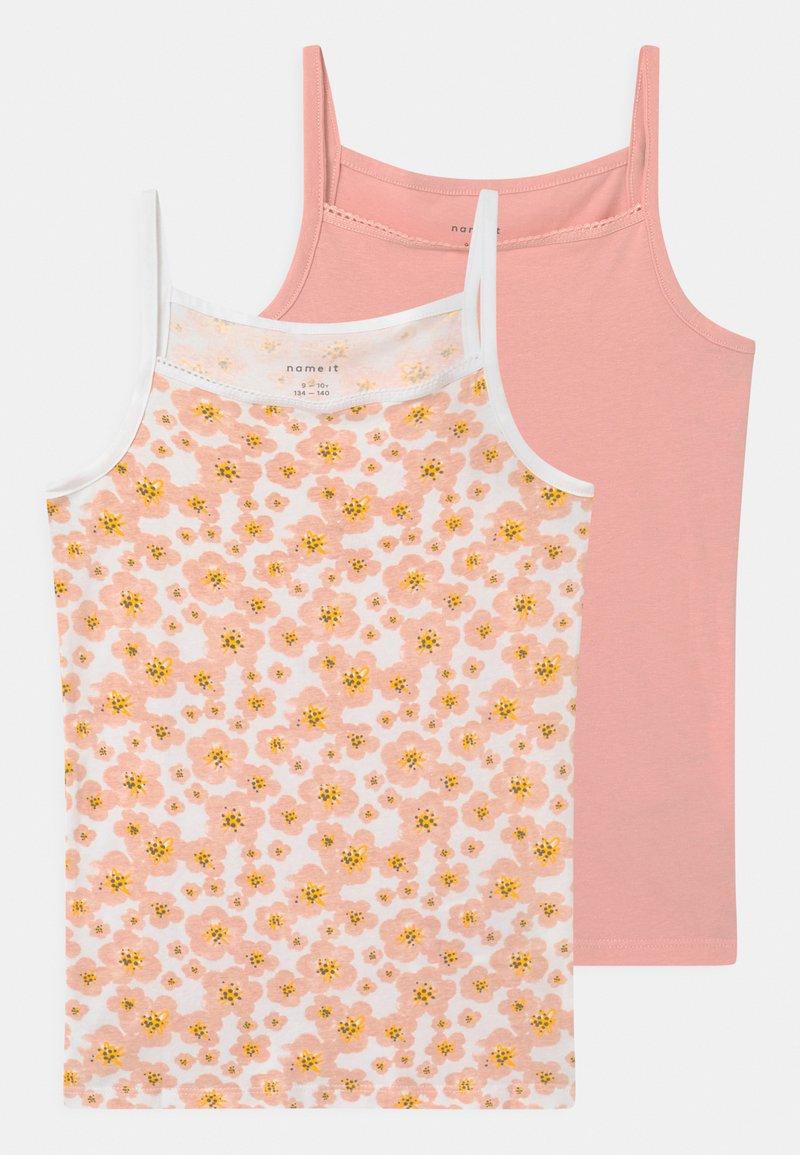 Name it - NKFSTRAP 2 PACK - Undershirt - silver pink