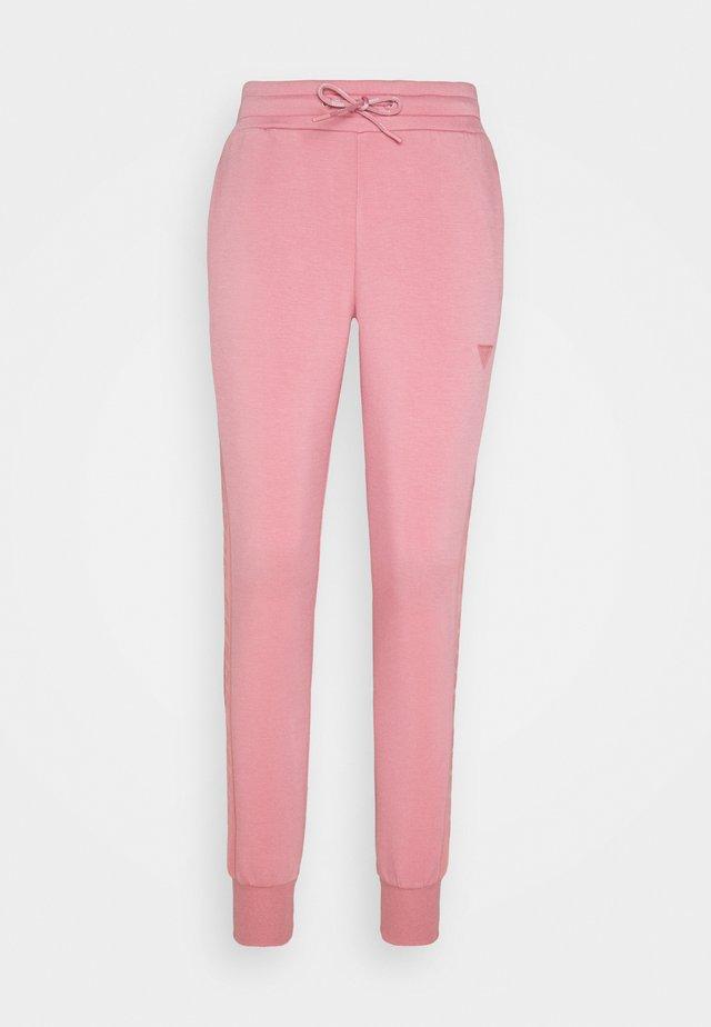 ALLIE LONG PAN - Spodnie treningowe - rose