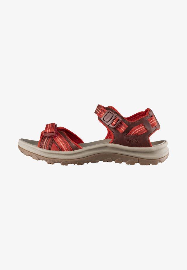 Sandały trekkingowe - dark red/coral