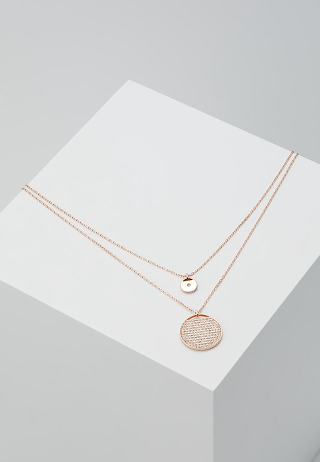 GINGER PENDANT LAYER  - Halskette - rosegold-coloured