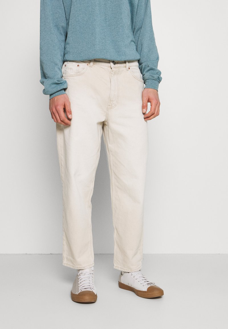 BDG Urban Outfitters - BOW  - Tapered-Farkut - ecru