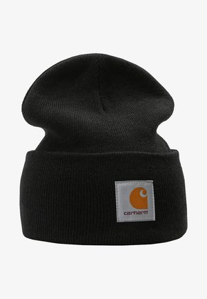 WATCH HAT - Gorro - black