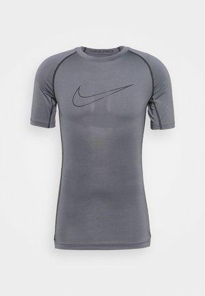 TIGHT - T-shirt z nadrukiem - iron grey/black