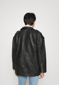 Deadwood - AGATHA BIKER - Short coat - black - 2