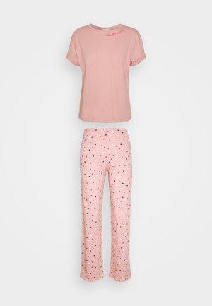 SLOGAN SPOT - Pijama - pink mix