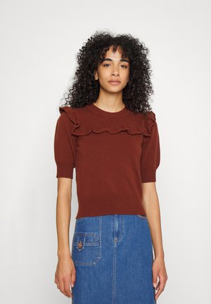 Basic T-shirt - chocolate
