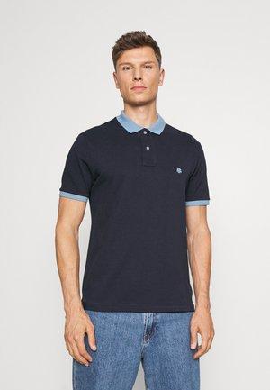 BASIC CONTRAST - Polo shirt - dark blue