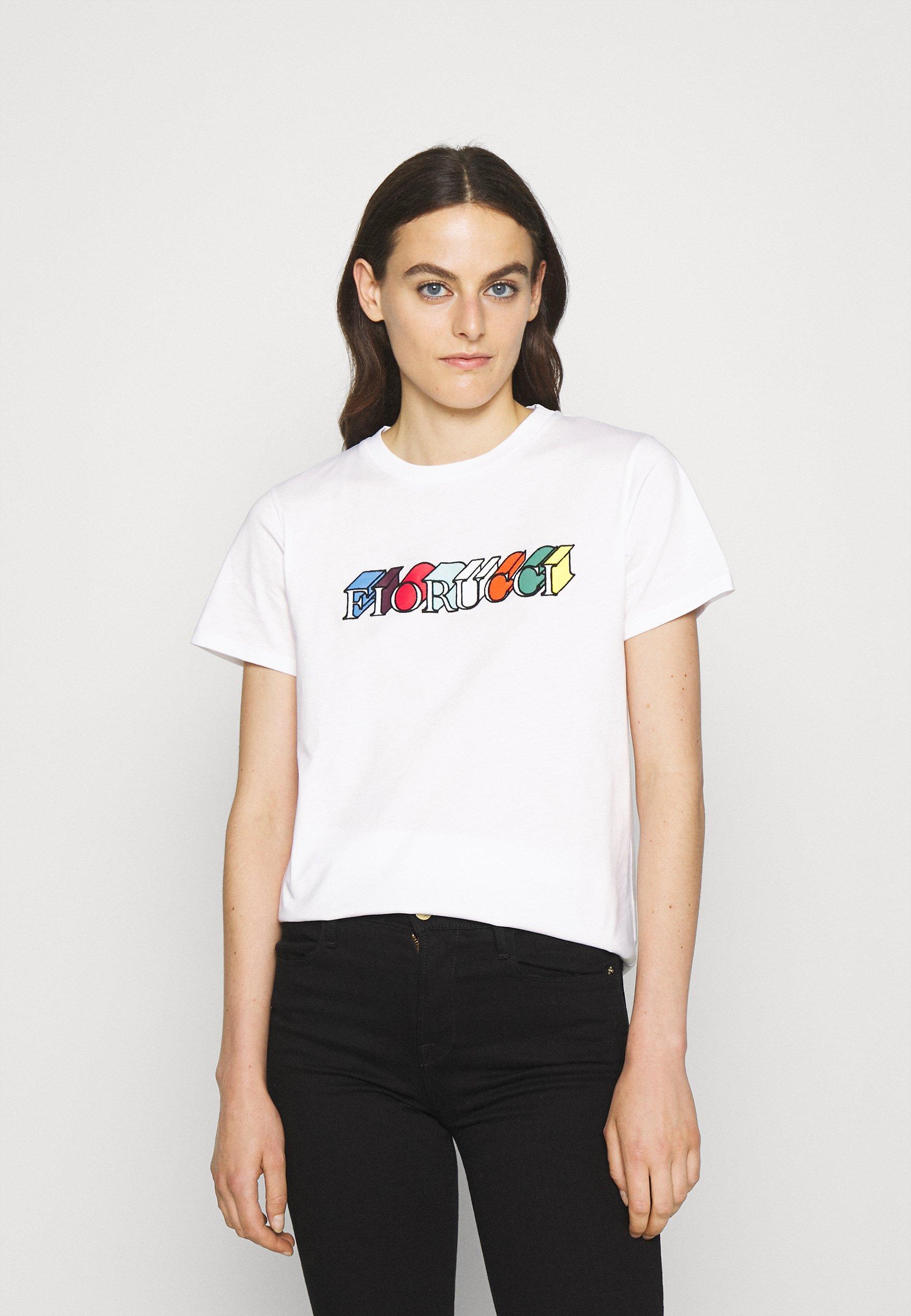 Women MONO LOGO TEE - Print T-shirt