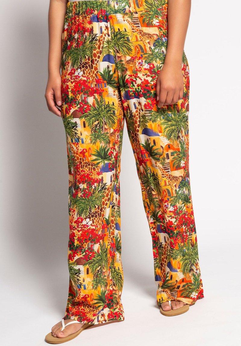 Ulla Popken - Trousers - multicolor