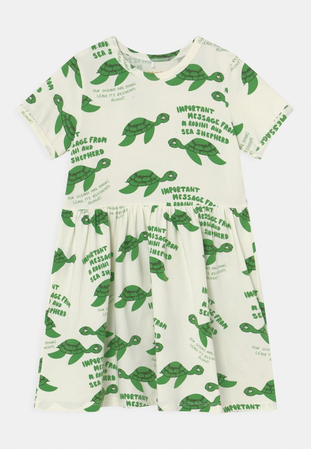 TURTLE  - Jersey dress - green