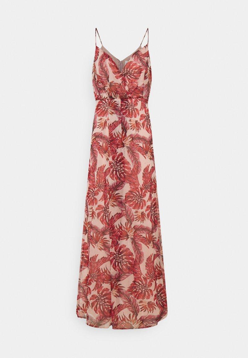 Vila - VIAMARYLLIS ANKLE DRESS - Maxi dress - misty rose/mars red