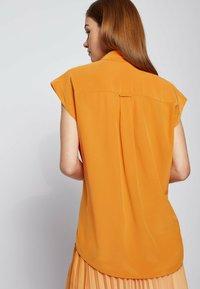 BOSS - Button-down blouse - open yellow - 4