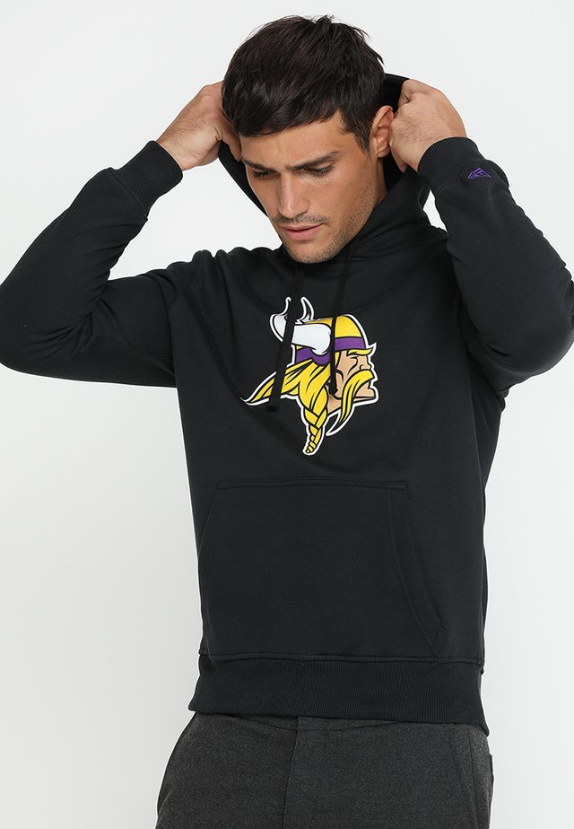 MINNESOTA VIKINGS HOODIE - Sweat à capuche - black