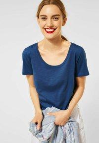 Street One - Basic T-shirt - blau - 0