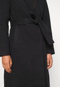 Vila - VIPOKU COAT - Classic coat - black - 6