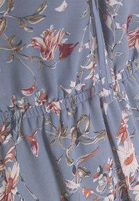 ONLY - ONLMAISIE FRILL DRESS - Day dress - cloud dancer/blueish - 2
