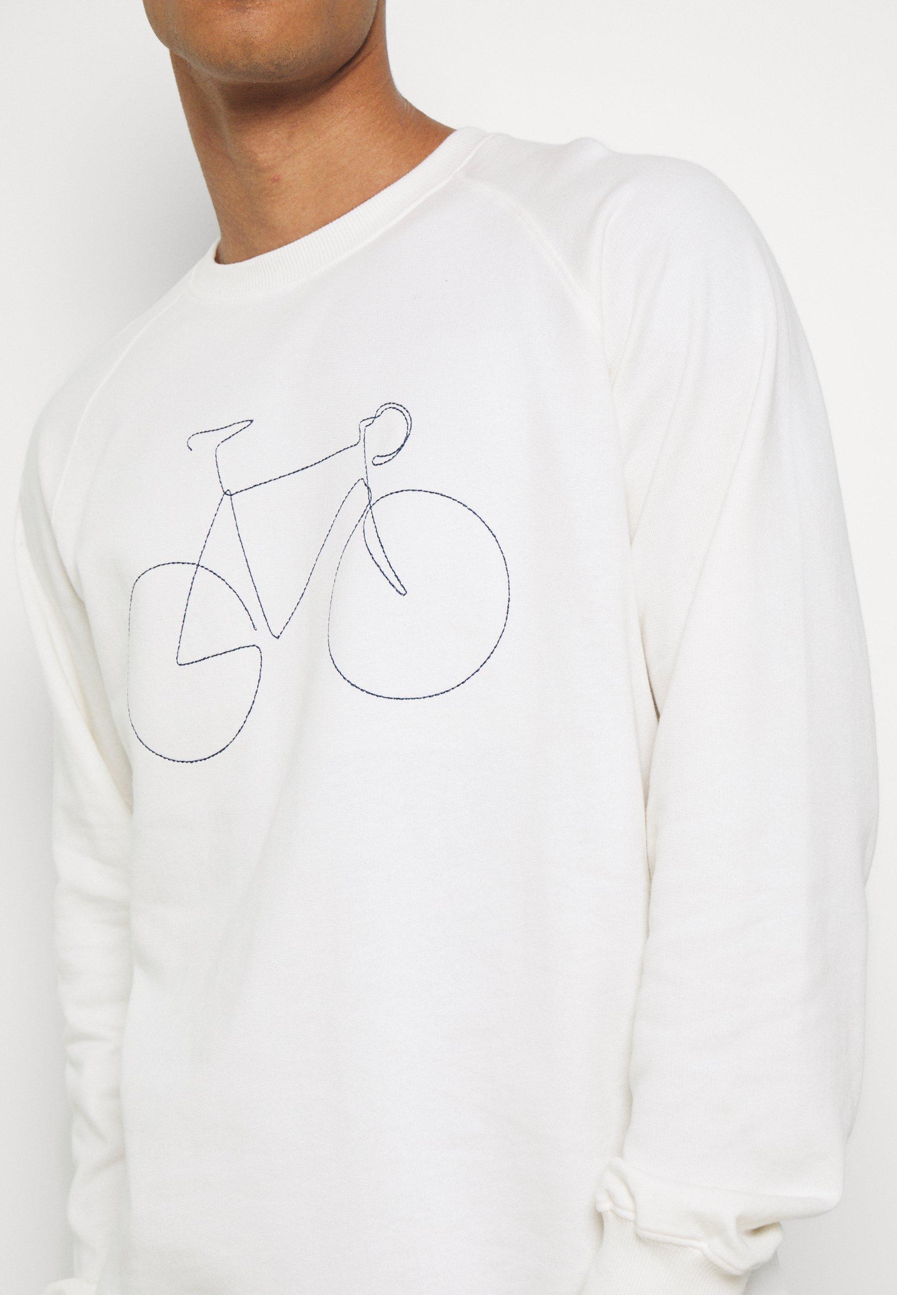 Dedicated MALMOE BICYCLE - Sweatshirt - off-white