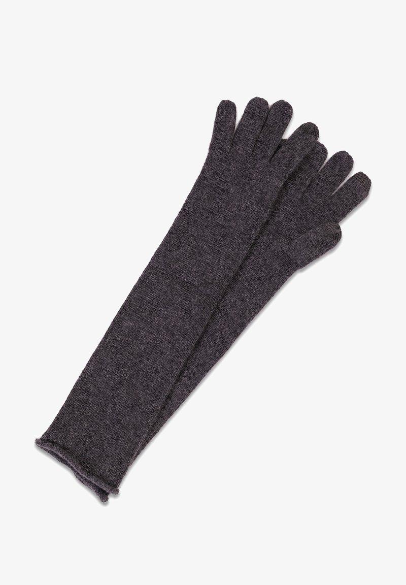 CASH-MERE - LANG - Gloves - anthrazit