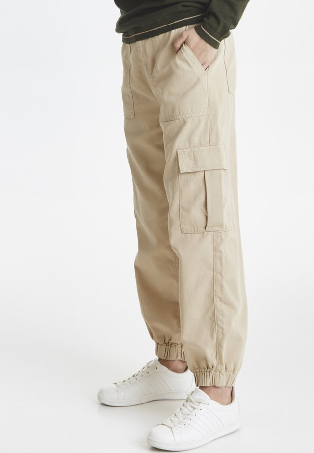 PXTRUDY - Cargo trousers - sand