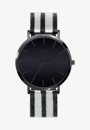 MILANO - Montre - black/silver