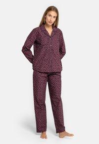 Seidensticker - Pyjama - rot - 1