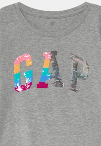 GAP - GIRL LOGO - Bluzka z długim rękawem - light heather grey - 2