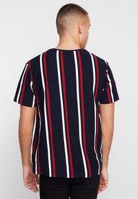 Topman - Print T-shirt - navy - 2