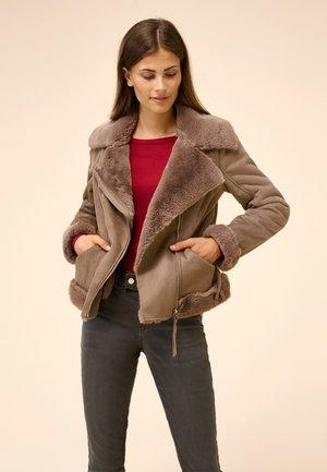 Winter jacket - schoko