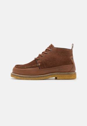 HORUZY - Lace-up ankle boots - marron