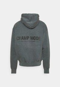 Pegador - MIKE HOODIE UNISEX USED LOOK - Sweat à capuche - vintage grey - 1