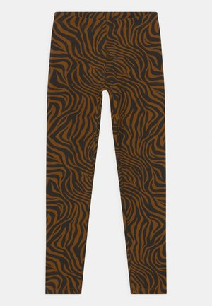 MINI  - Leggings - Trousers - brown
