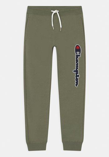 LOGO - Pantalones deportivos - khaki