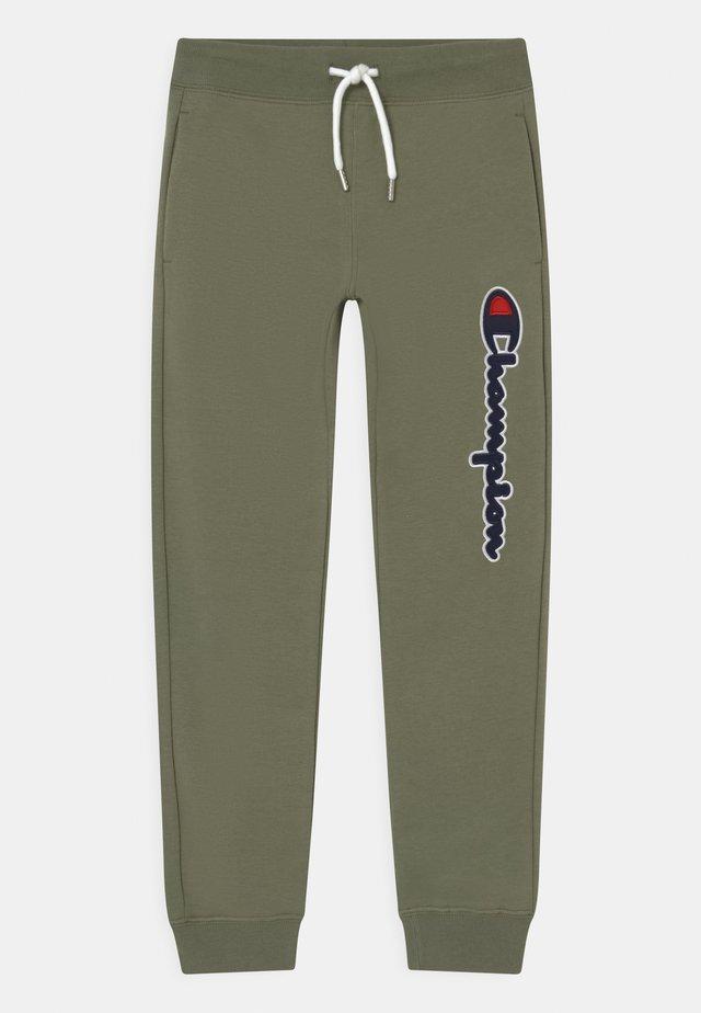 LOGO - Pantalon de survêtement - khaki