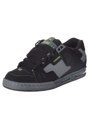 SABRE - Skate shoes - black/charcoal/poison