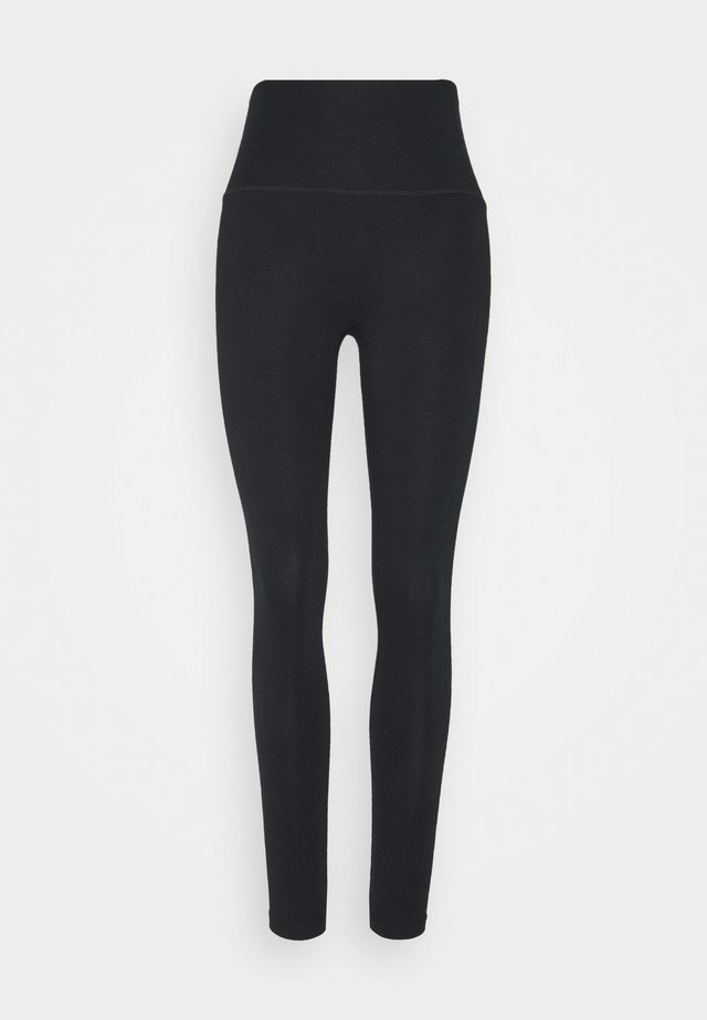 CHILL BASIC HIGH RISE - Leggings - true black