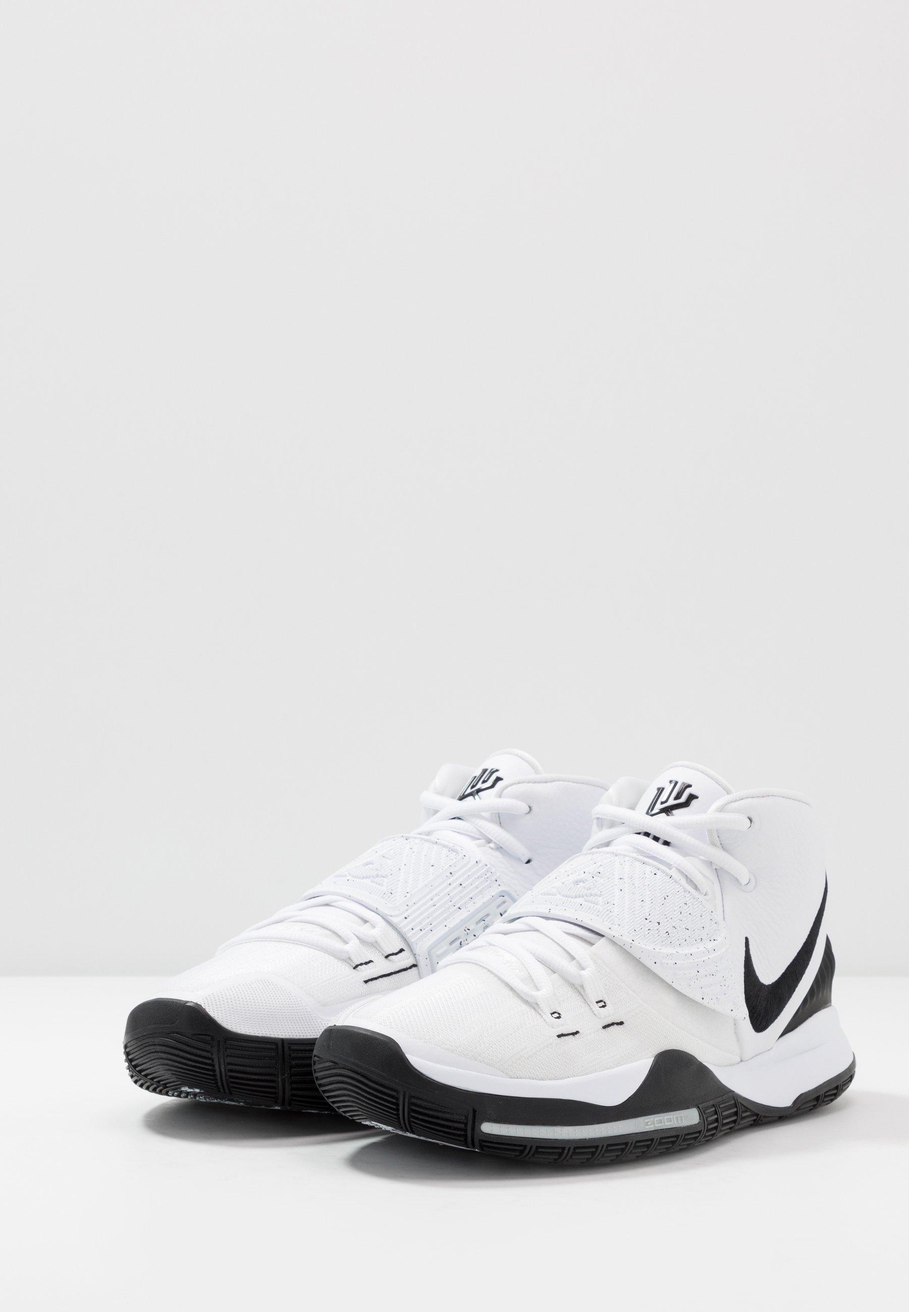 Nike Performance KYRIE 6 - Basketballschuh - essential white/black/weiß - Herrenschuhe uKULm