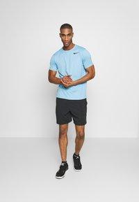 Nike Performance - Camiseta básica - laser blue/psychic blue/heather/black - 1