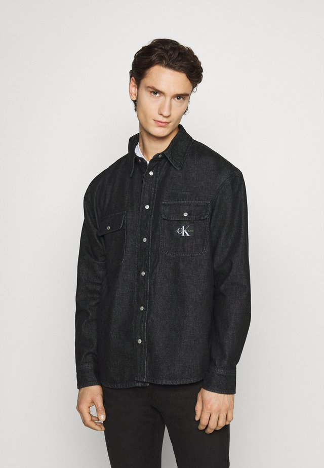 SHIRT - Camisa - denim black