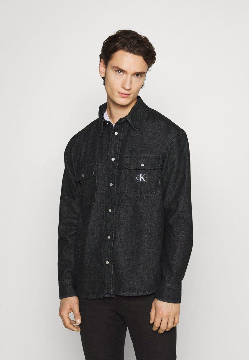 Calvin Klein Jeans - SHIRT - Shirt - denim black