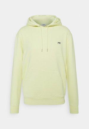 ARKK BOX LOGO HOODIE - Sweater - faded yellow