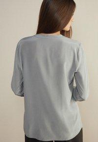 Falconeri - Button-down blouse - grau diamante - 2