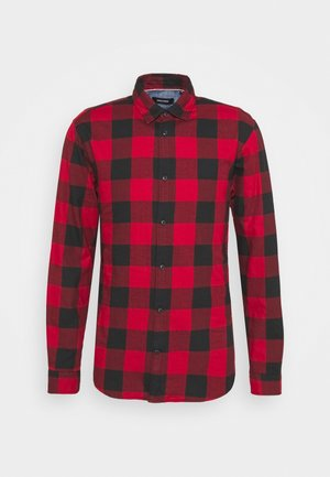 JJEGINGHAM  - Shirt - brick red
