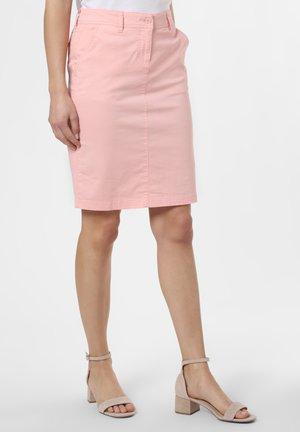 ROCK - Pencil skirt - rosa